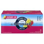 Adirondack Sparkling Seltzer Water Raspberry Lime