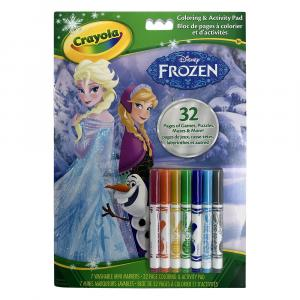 Crayola Frozen Color & Activity Pad With Markers