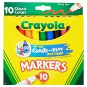 Crayola Classic Broad Line Markers