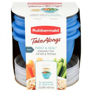 Rubbermaid Takealongs Round Containers