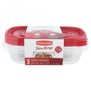 Rubbermaid TakeAlong Rectangle Containers
