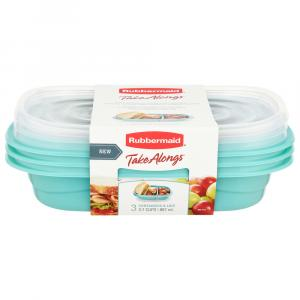 Rubbermaid TakeAlongs Containers