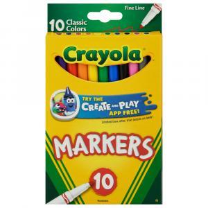 Crayola Classic Fine Markers