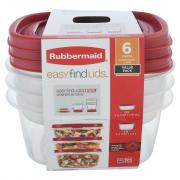 Rubbermaid Easy Find Lids with Vented Lids