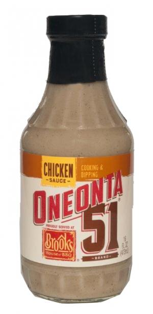 Oneonta 51 Brand Chicken Sauce