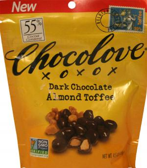 Chocolove Dark Chocolate Almond Toffee
