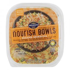 Mann's Sriracha Nourish Bowls