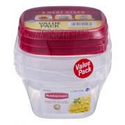 Rubbermaid Value Pack 2 Cup with Easy Find Lids