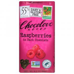 Chocolove Dark Chocolate Rasberry Bar