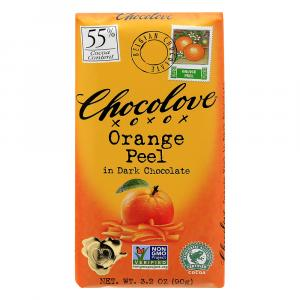 Chocolove Dark Chocolate Orange Peel
