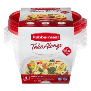 Rubbermaid TakeAlong 3.2-Cup Round Containers