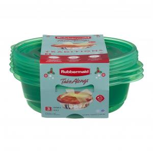 Rubbermaid Take Alongs 5-cup Round Bowls
