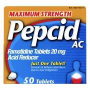 Pepcid AC 20mg Acid Reducer Tablets