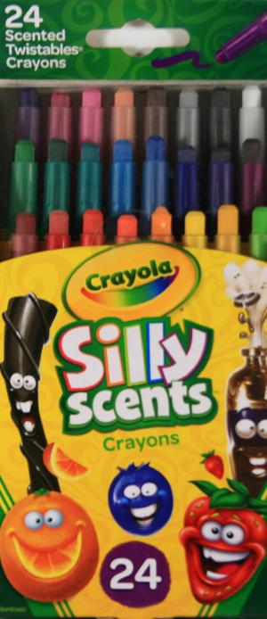 Crayola Silly Scents Twistable Crayons