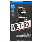 Met-Rx Big 100 Colossal Super Cookie Crunch Bars 4 Pack