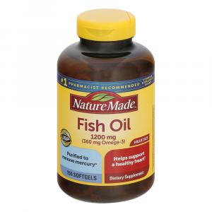 Nature Made Value Size Fish Oil 1200 Mg.