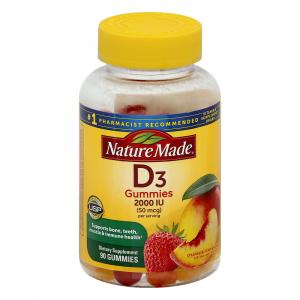 Nature Made Vitamin D3 Adult Gummies