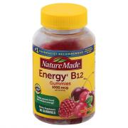 Nature Made Energy B12 Adult Gummies