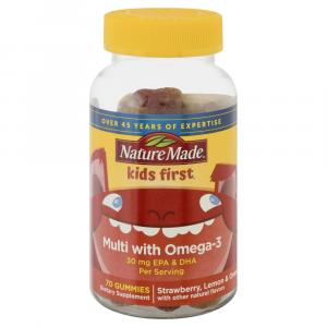 Nature Made Kids First Multi-Vitamin with Omega 3 Gummies
