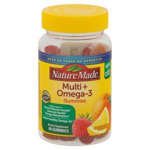 Nature Made Multi+omega-3 Adult Gummies
