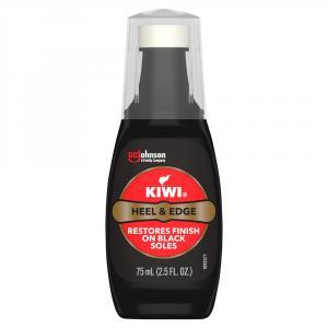 Kiwi Heel & Sole Edge Color Renew Black
