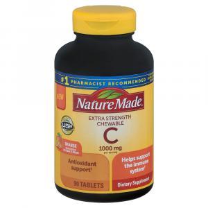 Nature Made Vitamin C Chewable 1000 mg