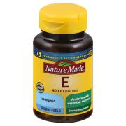 Nature Made E Vitamin 400 I.U. Liquid Softgels