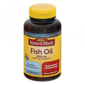 Nature Made Fish Oil 1000MG Softgels