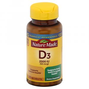 Nature Made Vitamin D 2000iu