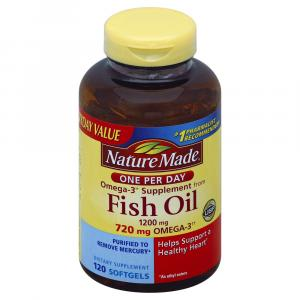 Nature Made Fish Oil Double Strength 1200mg