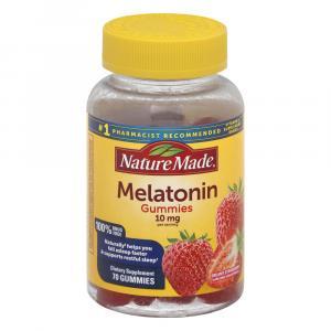 Nature Made 10mg Melatonin Gummies Dreamy Strawberry