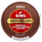 Kiwi Brown Shoe Polish Paste