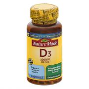 Nature Made Vitamin D3 1000IU