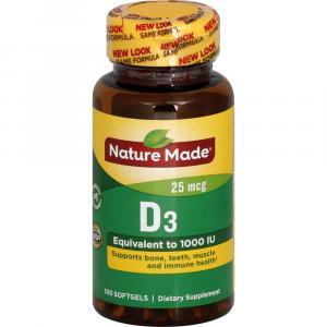Nature Made Vitamin D3 1000IU
