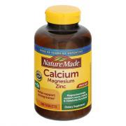 Nature Made Calcium Magneseium Zinc Tablets