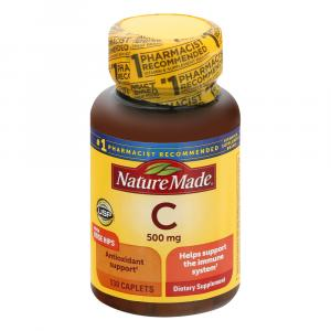 Nature Made Vitamin C 500mg With Rose Hips