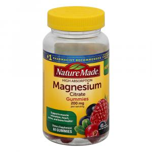 Nature Made Magnesium Cirtrate 200 mg Gummies