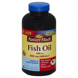 Nature Made Fish Oil 1200mg Softgels
