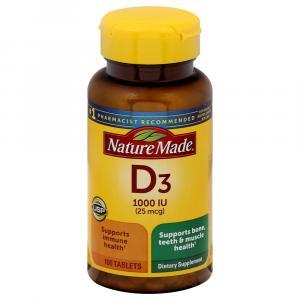 Nature Made Vitamin D 1000IU