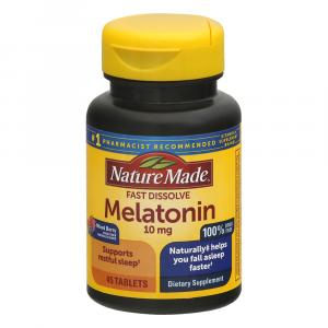Nature Made Melatonin Fast Dissolve 10 mg