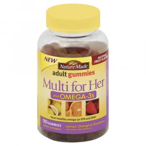 Nature Made Multi For Her With Omega-3s Gummies
