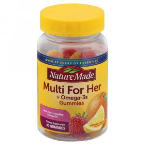 Nature Made For Her Multi+omega-3 Adult Gummies