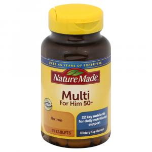 Nature Made Multi For Him 50+ Tablets