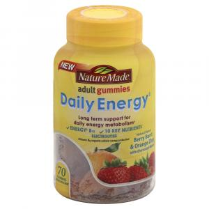 Nature Made Daily Energy Adult Gummies