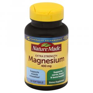 Nature Made High Potency Magnesium 400mg