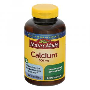 Nature Made Calcium with Vitamin D 600 mg Softgel