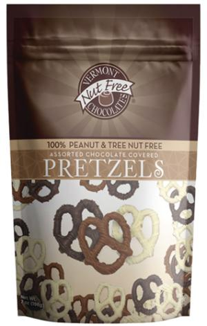 Vermont Nut Free Chocolates Chocolate Covered Pretzels