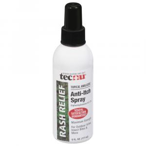 Tecnu Rash Relief Spray with Scar Reduction
