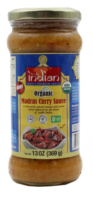 Truly Indian Madras Curry Sauce