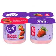 Dannon Light & Fit Traditional Strawberry Yogurt